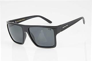 Óculos de Sol Unissex Chilli Beans Quadrado Cinza Polarizado Essential, OCCL2203 0405