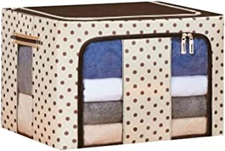Lpiotyucwh Paniers et Boîtes De Rangement, Bouches de stockage Boîtes, pliable empilable conteneur organisateur panier de ...