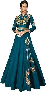 9188 Ready To Wear Triva Silk Gown Maxi Dress Pakistani Muslim Dress Party Festive Women