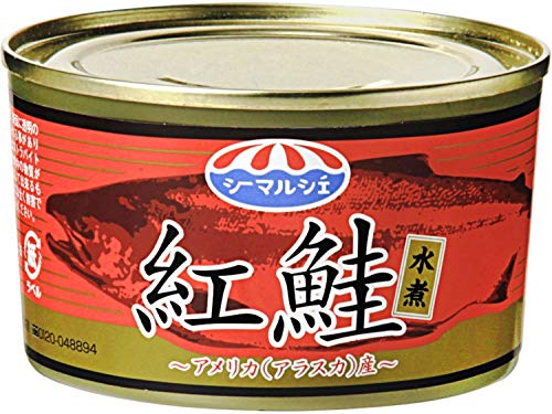 極洋『紅鮭水煮 アメリカ(アラスカ)産』