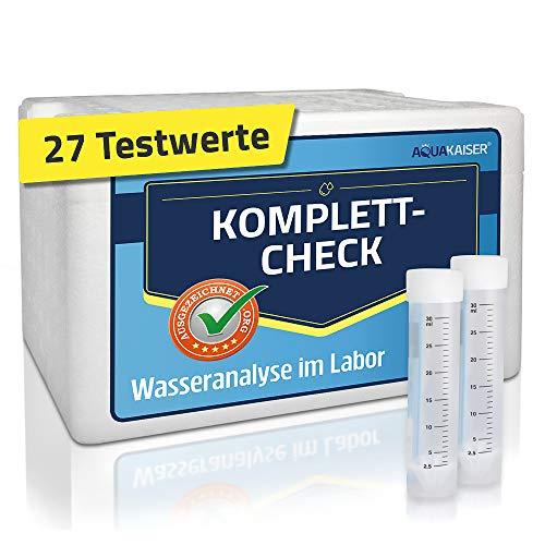 Wassertest für Daheimim Labor