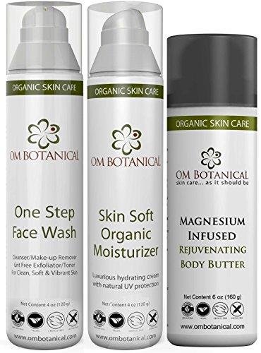 Om Botanical Exfoliating Face Wash