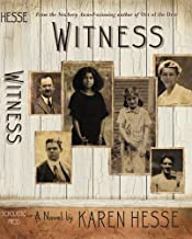 Witness 1st (first) Edition by Hesse, Karen published by Scholastic Press (2001) Hardcover