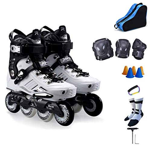Check Out This Roller Skates,Outdoor Black Professional Inline Skates,Non-slip Wear-resistant And Br...