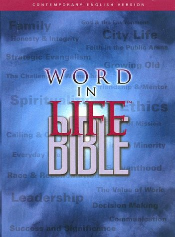 Compare Textbook Prices for The Word in Life Bible, Contemporary English Version 1St Edition Edition ISBN 9780785204237 by various