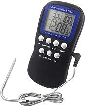 Termómetro de sonda para alimentos, termómetro de suelo, adecuado para hornear en barbacoa, medición de la temperatura del suelo