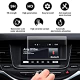 YEEPIN [Opel Astra K/Vauxhall Astra K ] Película de Pantalla de Navegación [Vidrio Templado] Resistencia al Rayado de Dureza 9H Película Protectora HD,7 Pulgadas Screen Protector