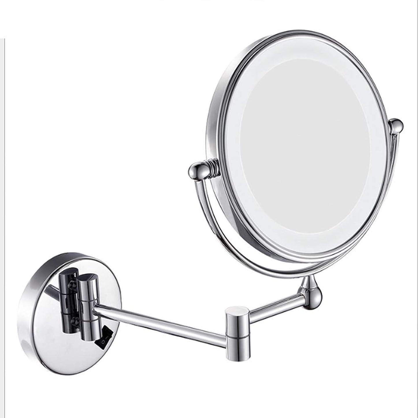 部分的にうなずくひばり照明付き化粧鏡 8