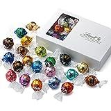 リンツ (Lindt) チョコレート リンドール テイスティングセット [ピック&ミックス] 22種 23個入り 個包装 ショッピングバッグS付