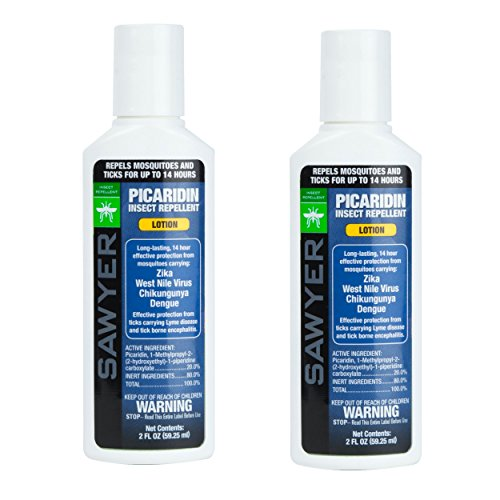 Sawyer Products SP5622 Premium Insect Repellent with 20% Picaridin, Lotion, Twin Pack, 2-Ounce
