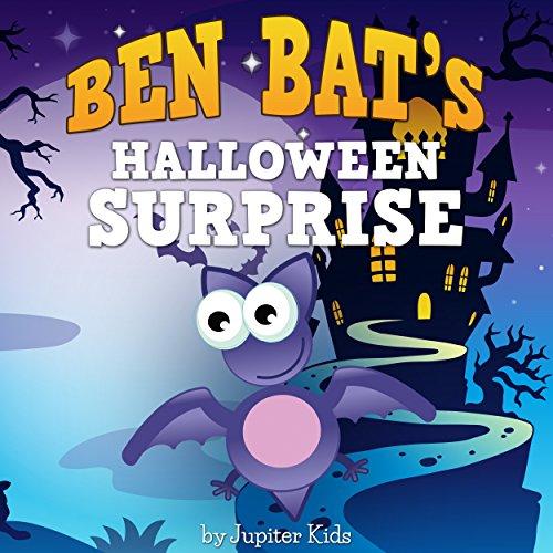 Ben Bat's Halloween Surprise audiobook cover art