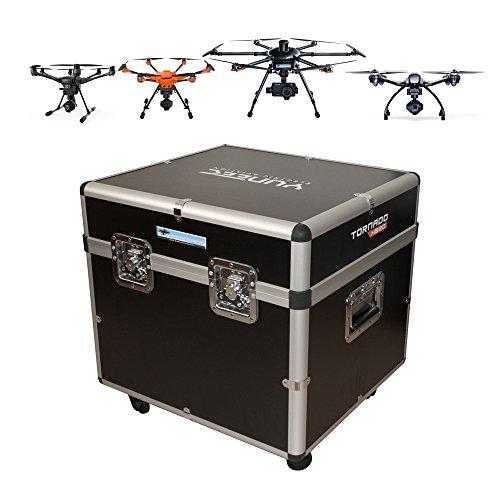 DS24 Drohnen Universalkoffer für z.B. Typhoon H H520 H920 Q500 - Koffer mit Rollen - Koffer ohne Inlay