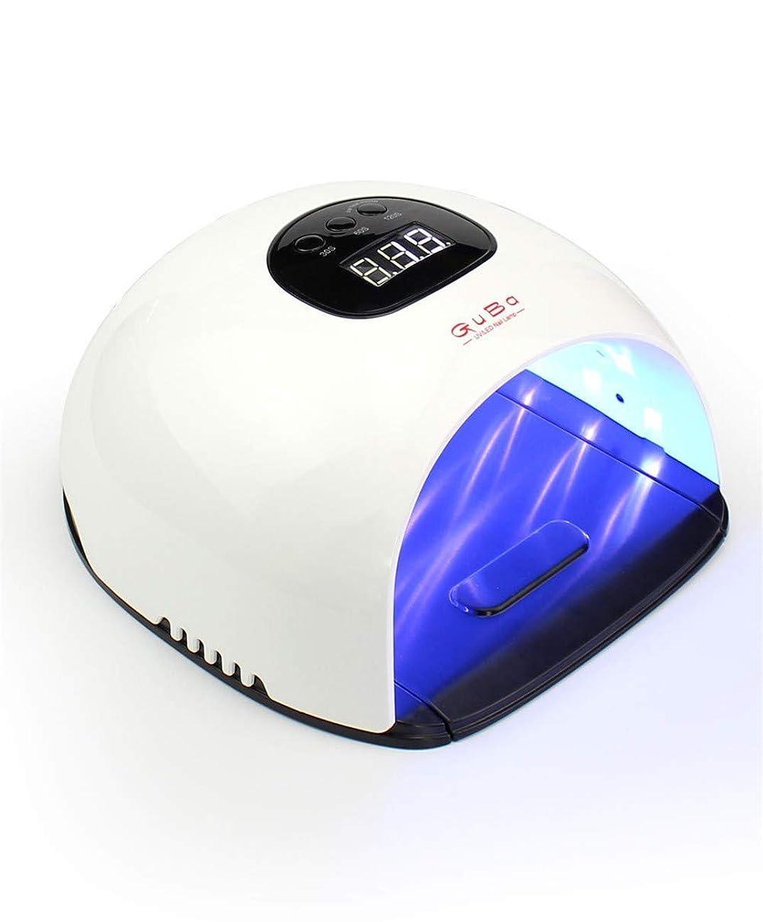 マーガレットミッチェルアレイ時計回りマニキュア液晶ディスプレイuv用器具ネイル用48ワット紫外線療法ジェルポリッシュランプネイルライトドライヤー機器