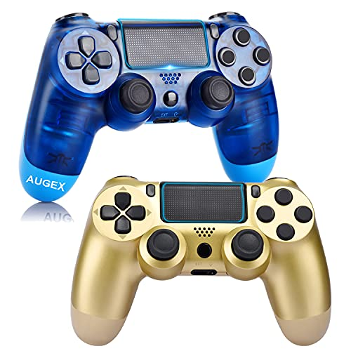 2 Pack Controller for PS4,Wireless Controller with Dual Vibration Game Joystick