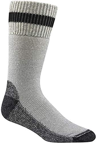Wigwam Diabetic Thermal F2062 Sock, Grey/Black - MD