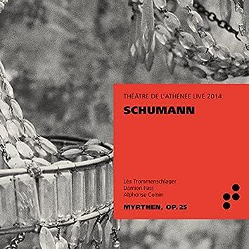 Schumann (Live at Théâtre de l'Athénée, 2014)