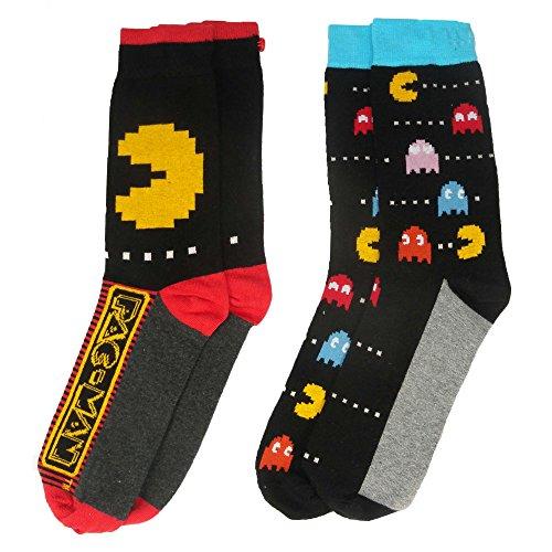 Pacman y1h417Pacman Herren Socken (Größe 6–11, 2Stück)