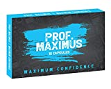 Prof. Maximus Male Enlargement Supplement - 10 Fast Acting Performance & Test Booster Capsules for Energy, Strength & Endurance - Natural Girth & Growth Amplifier - Size Enhancement Pills for Men