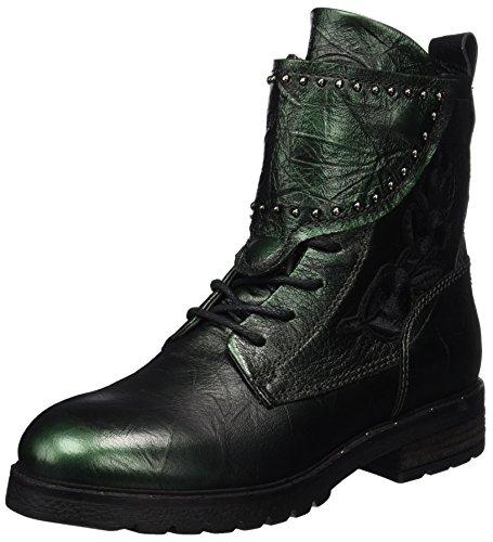 Mjus Damen 190204-0101 Combat Boots, Grün (Lichene), 37 EU