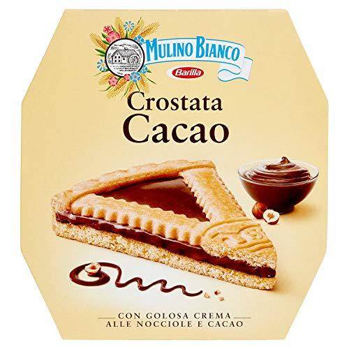 Mulino Bianco Crostata con Crema al Cacao e Nocciole, Torta Pronta da Gustare Senza Olio di Palma, 440 g
