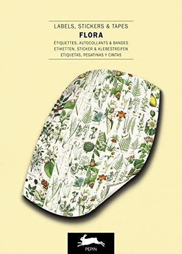Flora: Label and Sticker Book: Label & Sticker Book