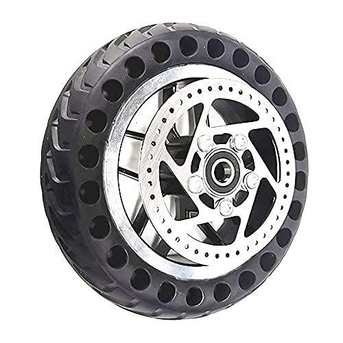 DIELUNY Neumáticos eléctricos de la vespa, 8 pulgadas Scooter All-Wheel 200x50 Honeycomb Solid Tire Accesorios, Especificaciones opcionales, ruedas sólidas