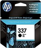 HP 337 C9364EE Cartuccia Originale per Stampanti a Getto di Inchiostro, Compatibile con Officejet, 7110 e K7100, Photosmart 8050, Deskjet 5940, 6620, 6540, 6940 e 6980, Nero