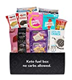 LOW CARB SNACKS: This variety box contains 11 low carb, low sugar and keto friendly treats selected by Mission Nutrition. It's a convenient and great way to sample and discover low carb snacks from trusted brands! PRODUCTS INCLUDE: Legendary Foods Ta...