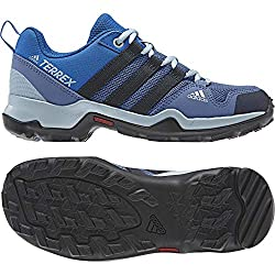 adidas Unisex Kids Terrex AX2R Trekking & Hiking Shoes, Blue (Azretr / Maosno / Gricen 000), 33.5 EU