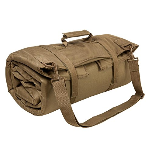 NcSTAR VISM CVSHMR2957T Roll Up Shooting Mat, Tan, 69 in