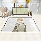 Classic Carpet for Office Indoor Entryway, Sword Art Online Eugeo Absorbent Area Rugs Bathroom Rugs, Personalized Non Skid Door Mat 36X24 in