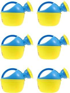 VORCOOL 6Pcs Watering Can with Sprinkler Head Water Kettle Cute Cartoon Watering Pot Children Watering Bottle for Plants F...