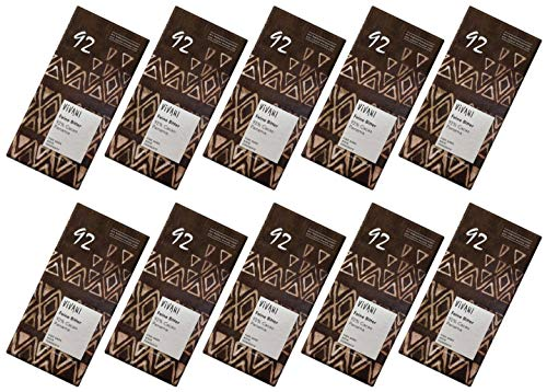 ViVANI エキストラダークチョコレート 92% 80g×10個 ★ コンパクト ★ 有機JAS ★ 有機カカオ92% ★ 砂糖不使用・有機ココナッツシュガー使用★