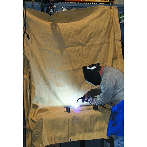 Agyle Products Welding Blanket, Fiberglass Protection Extra Large, 8 FT by 8 FT, Welding Work Area