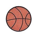 Parches para planchar/Patch Sticker,Se usa para decorar o reparar jeans,chaquetas,mochilas y zapatos de camisetas, baloncesto 5 piezas (cinco pelotas de baloncesto de la misma forma)
