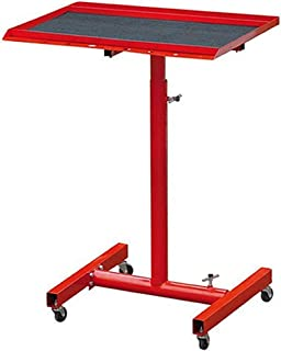 Cirocco Portable Tool Tray Mechanic Rolling Utility Cart Stand Work Table w/ 8 Hole Heavy Duty Steel Support 200Lbs Sturdy...
