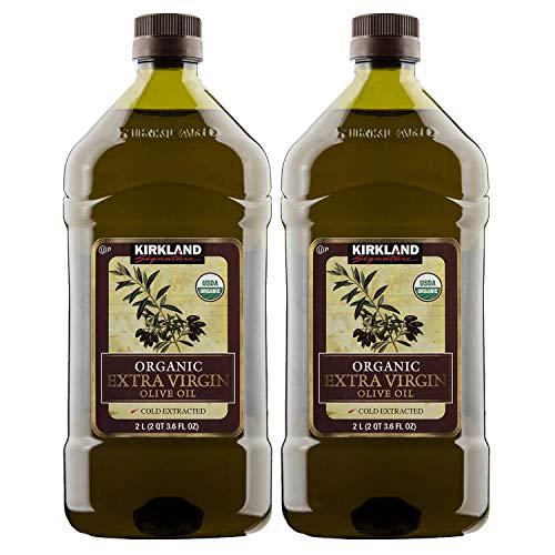 Kirkland Signature Organic Extra Virgin Olive Oil, 2 L (PACK OF 2)
