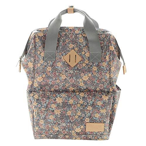 Caerling Baby Wickelrucksack multifunktionale wasserdichte Wickeltasche mit abziehbarer und Warmer Tasche Lieblich Babytasche für Reise und Schule