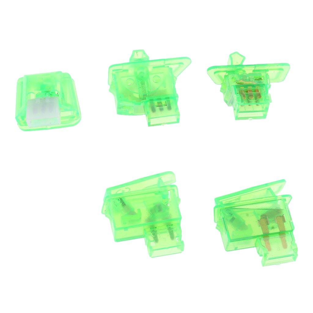Cubierta Caja de Interruptor de Bocina Luz Indicador de Señal Ligero Duradero - Verde: Amazon.es: Coche y moto