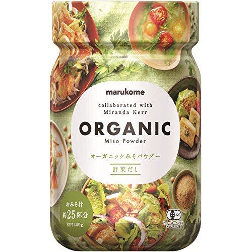 Marukome Organic Miso Powder vegetable dashi 200g