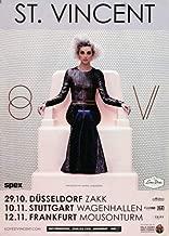 st vincent concert poster