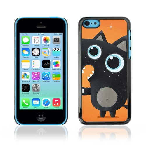 CelebrityCase Polycarbonate Hard Back Case Cover for Apple iPhone 5C ( Cute Fox )