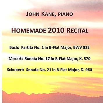 Homemade 2010 Recital