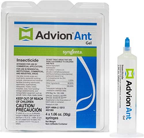 Syngenta 53204 Advion 4 x 30g Ant Gel, White