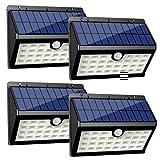 InnoGear Upgraded Solar Lights 30 LED Wall Light Outdoor Security Lighting Nightlight