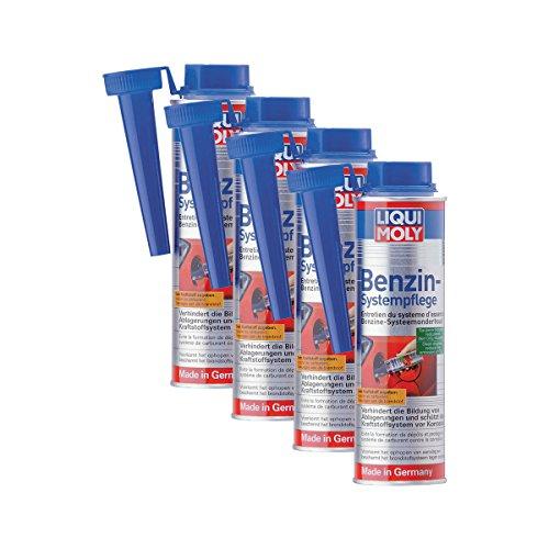 4 x Additif Liqui Moly 5108 Essence de Système de soins de carburant 300 ml