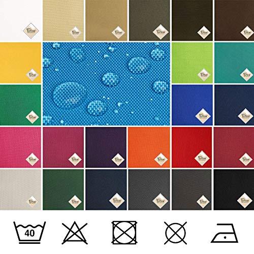 (8,49€/m) Breaker Teflon® - Tela repelente al agua - A prueba de viento - Muy robusta (color antracita) (por metro)