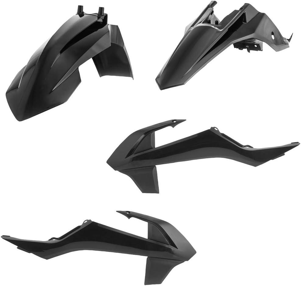 Acerbis Replica Plastic Kit Black for OFFicial store 65 SX Fashion 2016-2018 KTM