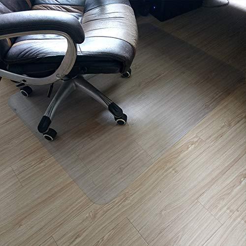 Studyset tapetes para piso para silla para pisos duros, transparente antideslizante rectángulo protector de piso para casa oficina silla rodante, Transparent 50×90cm, 50×90cm