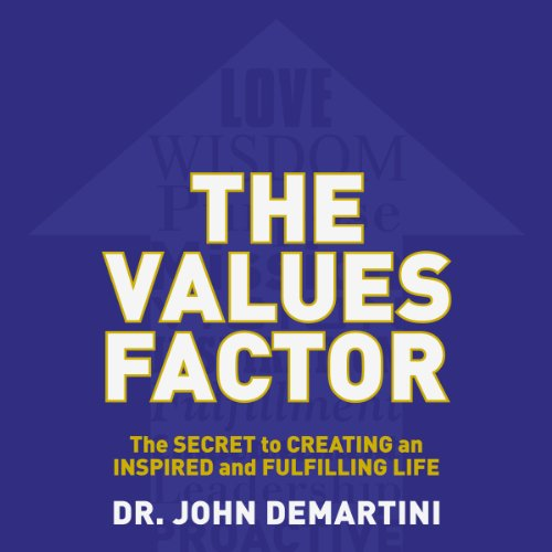 The Values Factor audiobook cover art